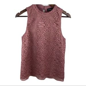 Tempted Sleeveless Lace Top
